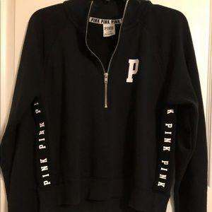 PINK Women's 1/2 Zip Pullover